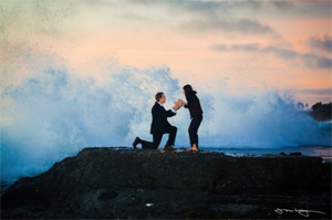 "Proposal Tips & Ideas ""Rocks, Beach"" Engagement Ring Express"