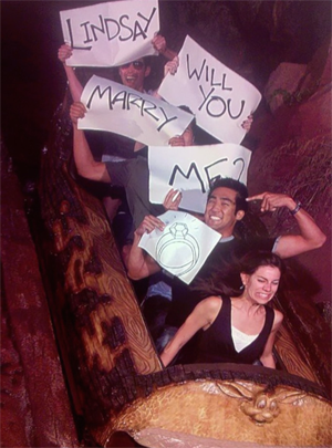 "Proposal Tips & Ideas ""Rollercoaster"" Engagement Ring Express"